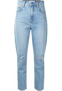Nobody Denim Calça Jeans Franky Cintura Alta - Azul