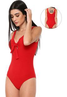 Body Mercatto Nó Vermelho