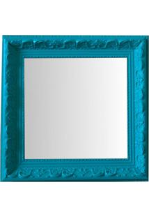 Espelho Moldura Rococó Raso 16245 Anis Art Shop
