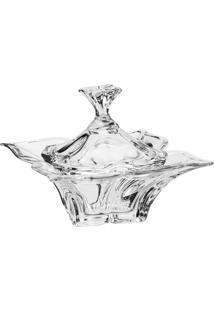 Bomboniere Florale- Cristal- 20,5X16X16,2Cmfull Fit