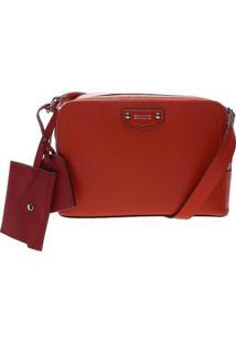 Bolsa Com Bagcharm - Vermelha Bordôschutz