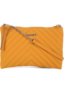 Bolsa Anacapri Mini Bag Eco Sintra Feminina - Feminino-Amarelo