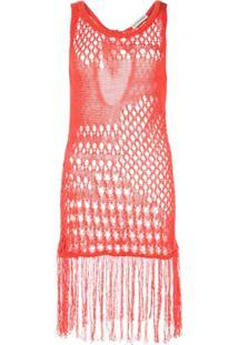 Altuzarra Blusa De Tricô - Vermelho