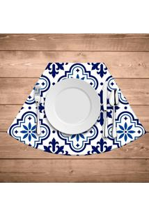 Jogo Americano Para Mesa Redonda Wevans Blue Kit Com 6 Pã§S - Multicolorido - Dafiti