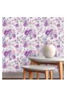 Papel De Parede Autocolante Rolo 0,58 X 3M - Floral 109278941
