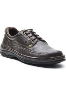 Sapato Masculino Conforto Cadarco Cafe - Masculino
