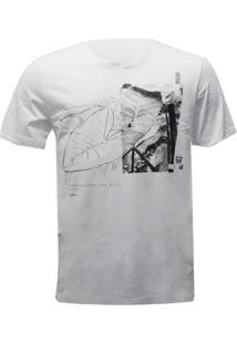 Camiseta Mormaii Estampada - Masculino-Branco