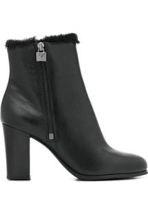 Michael Michael Kors Ankle Boot Frenchie - Preto
