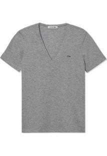 Camiseta Lacoste Cinza - Kanui
