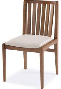Cadeira Brisa Encosto Ripado Assento Estofado - 51168 Sun House