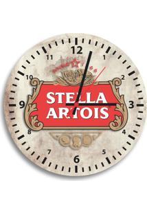 Relógio De Parede Decorativo Stella Artois Único