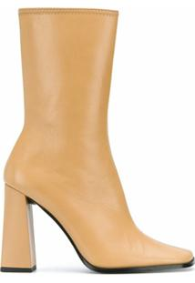By Far Ankle Boot Linda - Neutro