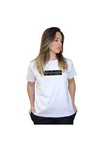 Camiseta Boutique Judith Quem Ve Close Branco