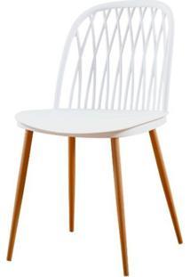 Cadeira Modena Branca Pes Amendoa - 50055 - Sun House