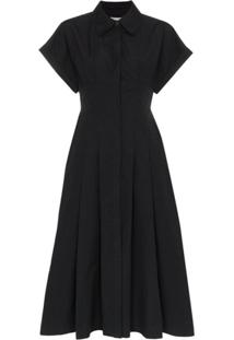 Three Graces Chemise Midi 'Alette' - Preto