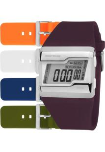 Relógio Mormaii Feminino Troca Pulseiras Fzcab/T8B