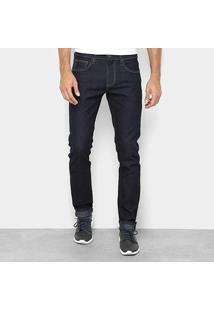 Calça Jeans Slim Forum Paul Masculina - Masculino-Azul Escuro