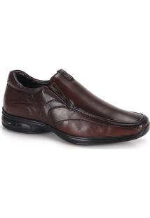 Sapato Casual Conforto Masculino Jota Pe 3D Discovery - Cafe