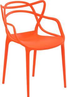 Cadeira Pp Allegra -Rivatti - Laranja