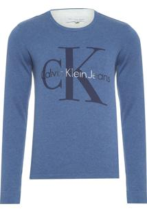 Suéter Masculino Longtail - Azul