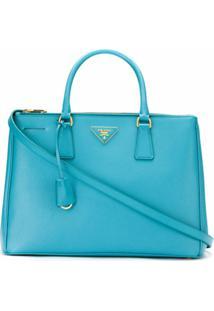 Prada Bolsa Tote 'Galleria' - Azul