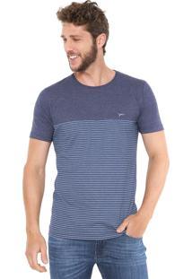 Camiseta Yachtsman Listrada Azul