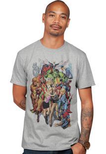 Camiseta Stan Lee Cinza