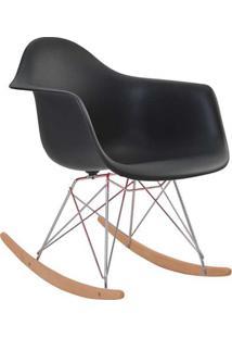 Cadeira Eames Dar Balanço - Preto
