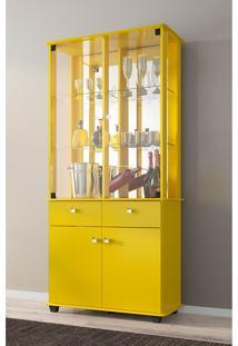 Cristaleira Verona - Bechara Amarelo