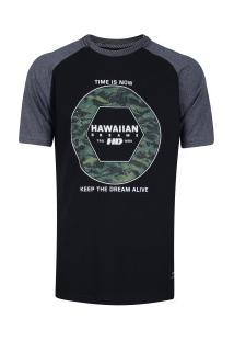 Camiseta Hd Ads Comander - Masculina - Preto