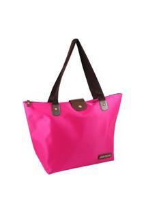 Bolsa Dobrável Tam. G Lisa Jacki Design Essencial I Pink