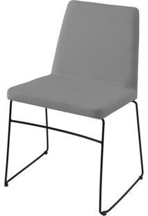 Cadeira Avec Cinza Base Preta - 55902 Sun House