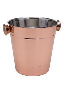Champanheira Royal De Aço Inox Cobre Cromado 1,5L Rosé