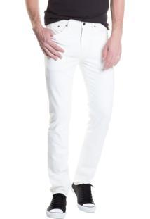 Calça Jeans Levis 511 Slim Branco Branco