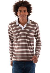 Camisa Konciny Polo Malha Confort Listrada