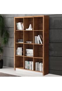 Estante Para Livros 120 Cm Tc610 Nobre/Off White - Dalla Costa