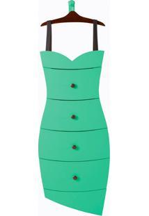 Cômoda Dress Verde Tifany Laca M824