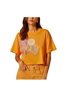 Camiseta Forum Laranja Feminino