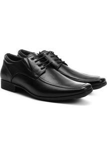 Sapato Social Couro Ferricelli Genebra Masculino - Masculino-Preto
