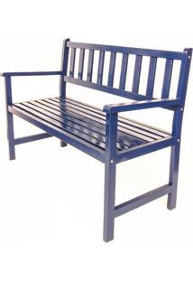 Banco De Jardim Isabela Revestimentos Colors Azul Del Rey