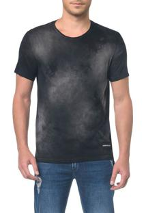 Camiseta Ckj Mc Logo Barra - Preto - Pp