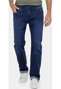 Calça Jeans Forum Paul Regular Indigo Masculina - Masculino