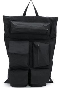 Eastpak Mochila Oversized 'Raf Simons X Eastpack' - Preto