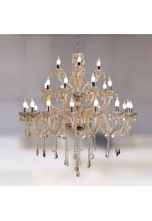 Lustre Nice 28 - 1120W - Startec - Champagne