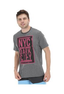 Camiseta Fatal Estampada 20250 - Masculina - Cinza Escuro
