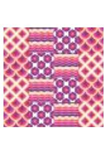 Papel De Parede Autocolante Rolo 0,58 X 3M - Azulejo Abstrato Zigzag 286126547