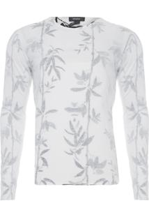 Camiseta Masculina A Fio Bamboo - Branco