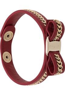 Salvatore Ferragamo Vara Bow Bracelet - Vermelho