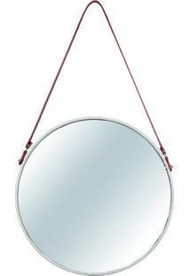 Espelho De Parede- Espelhado & Off White- 75,5X45,5Xmart