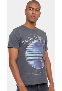 Camiseta Tigs South California Masculina - Masculino